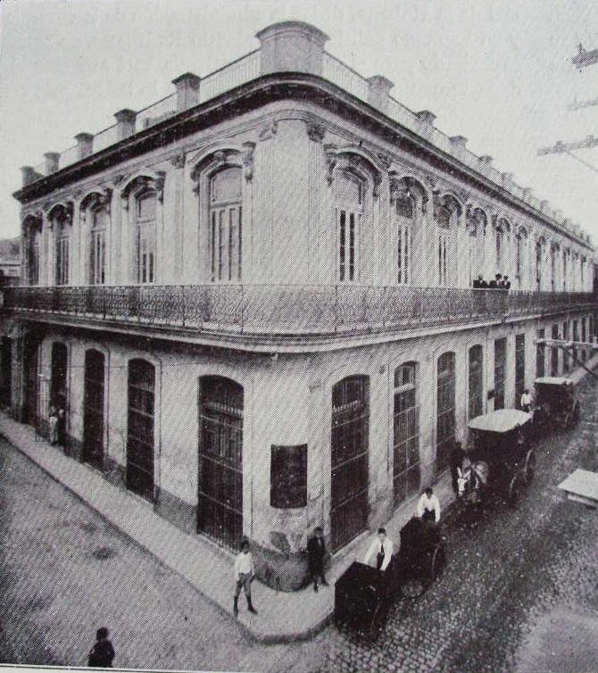 Compañía Litográfica de La Habana. Talleres centrales y Oficinas en